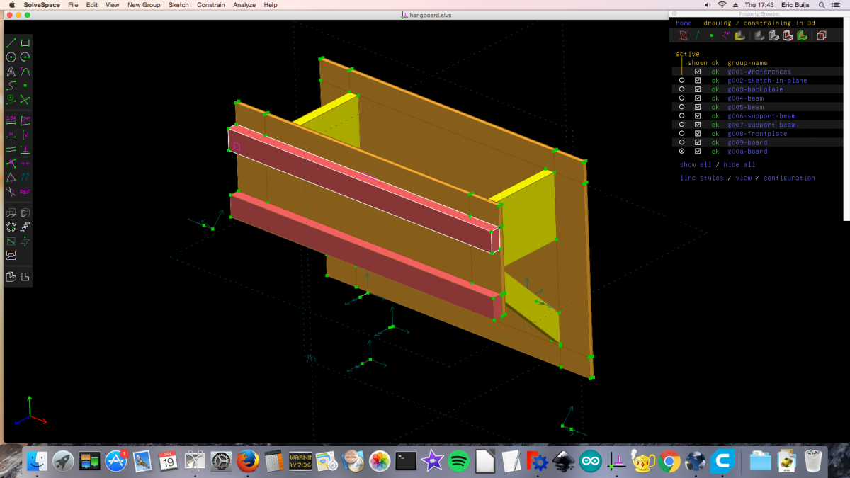 Switching from FreeCAD to Solvespace?
