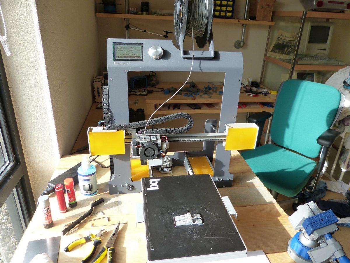 The BQ Hephestos2 (3D printer), nine months later